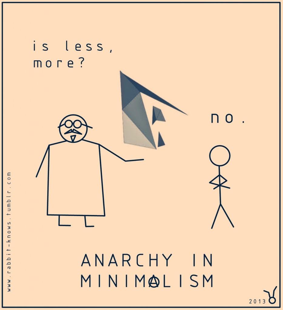 10 - Anarchy in Minimalism