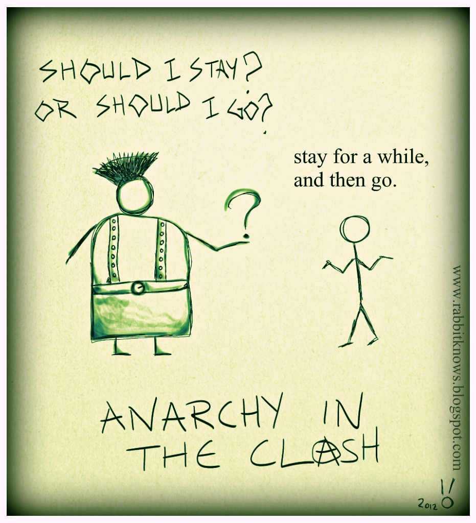 7 - Anarchy in the Clash