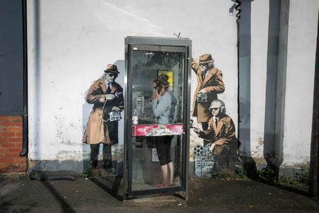 Banksy-Cheltenham-Gloucestershire-UK.